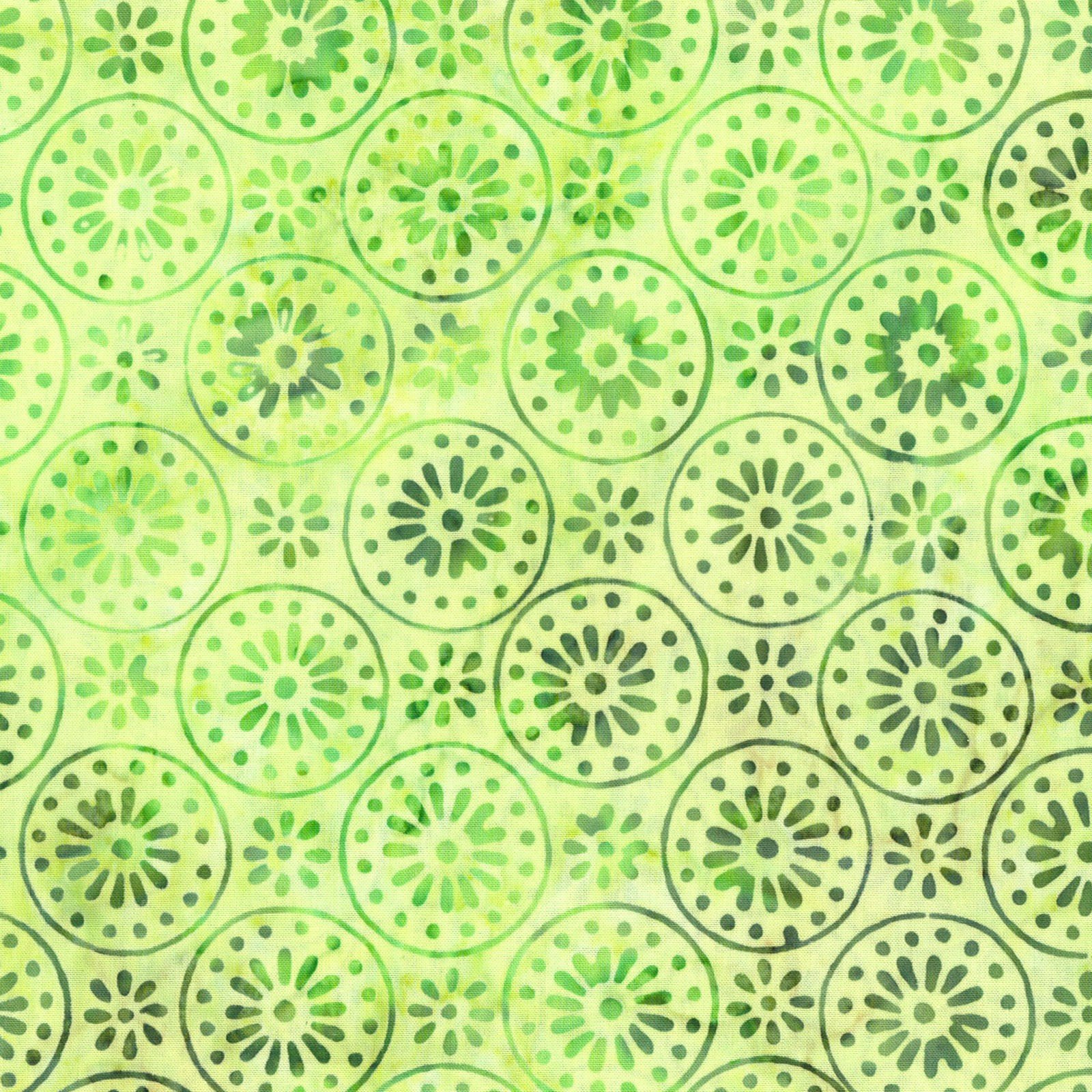 Floragraphix Batik IV Green<br/>In The Beginning 5GBD-2
