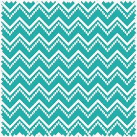 Ranunculus Dot Chevron - Teal FQ<br/>In The Beginning
