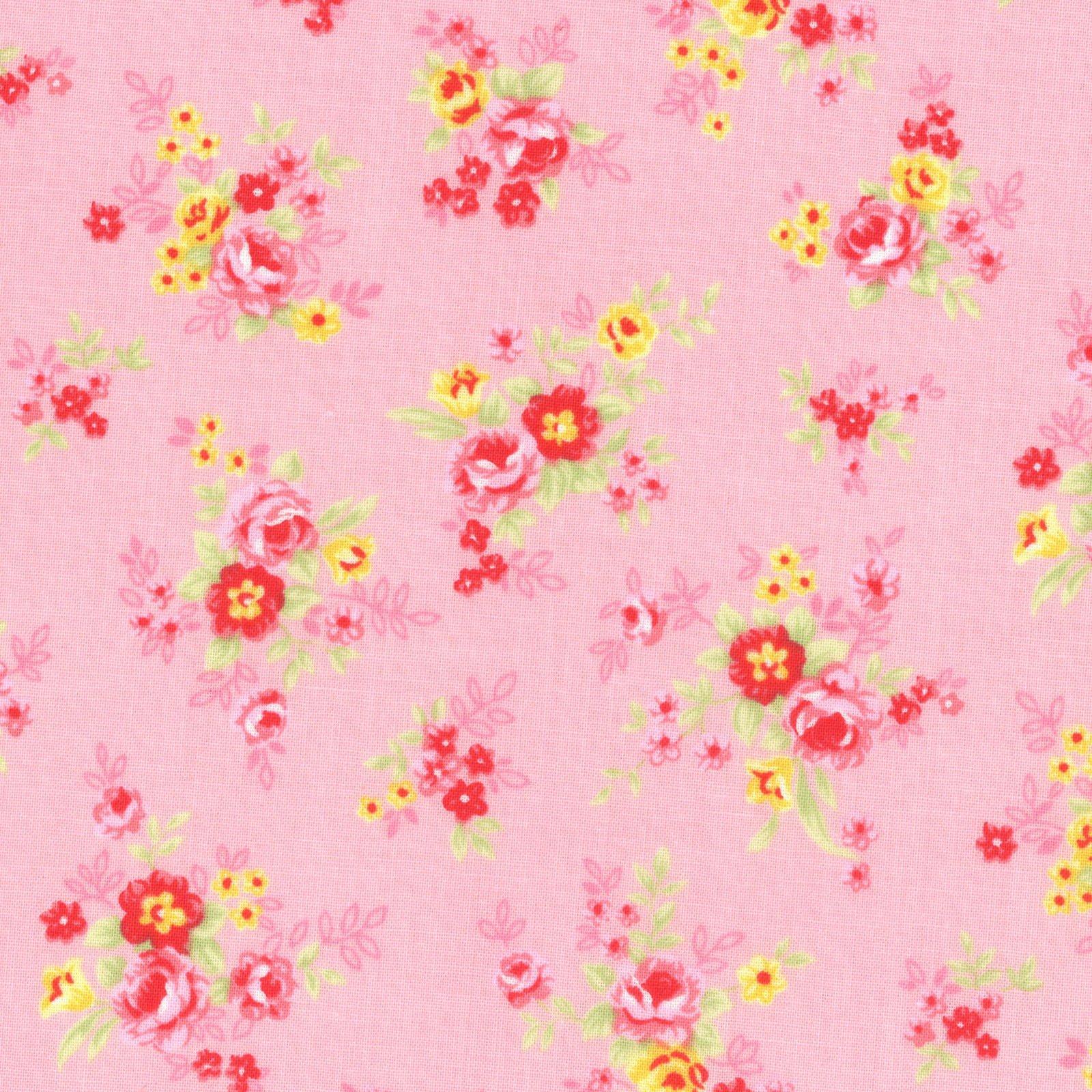 Antique Flower Pastel Pink<br/>Lecien 31422-20
