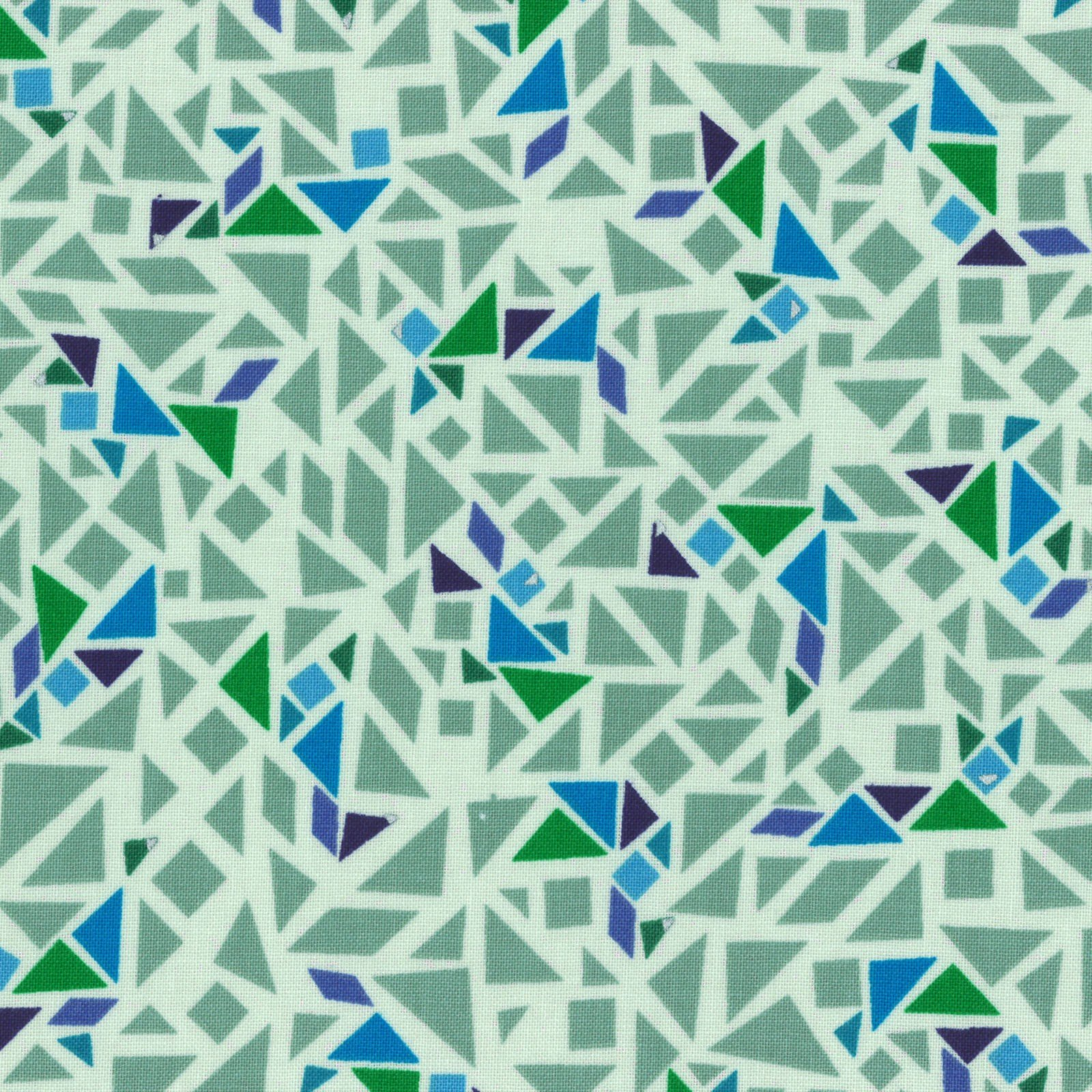 Stained Glass - Green 31449-60<br/>Lecien