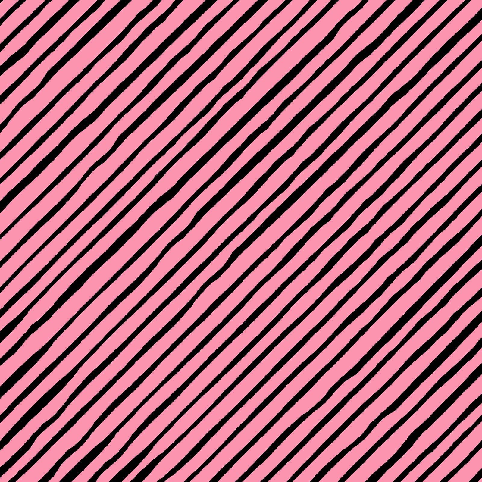 Sorta Stripe Bias - Pink/Black<br/>Loralie Designs 692-189
