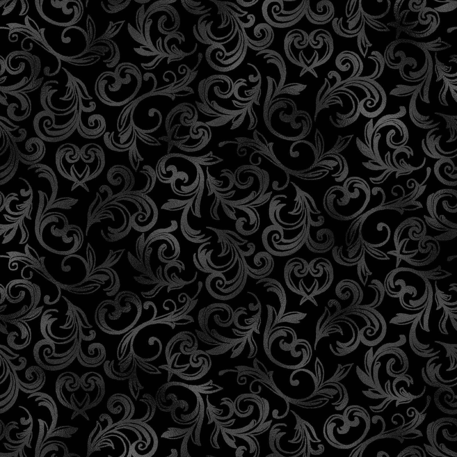 Pearl Essence Scroll Black<br/>Maywood Studio 114-J