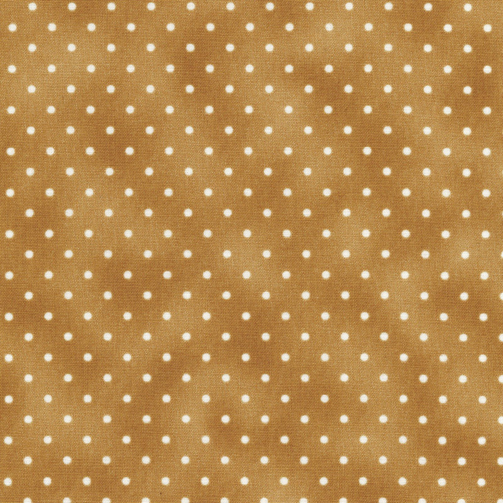 Pin Dots - Golden Brown<br/>Maywood Studio 609-S2