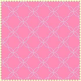 Pink Stitched Geo</br>Maywood Studios 8209-P