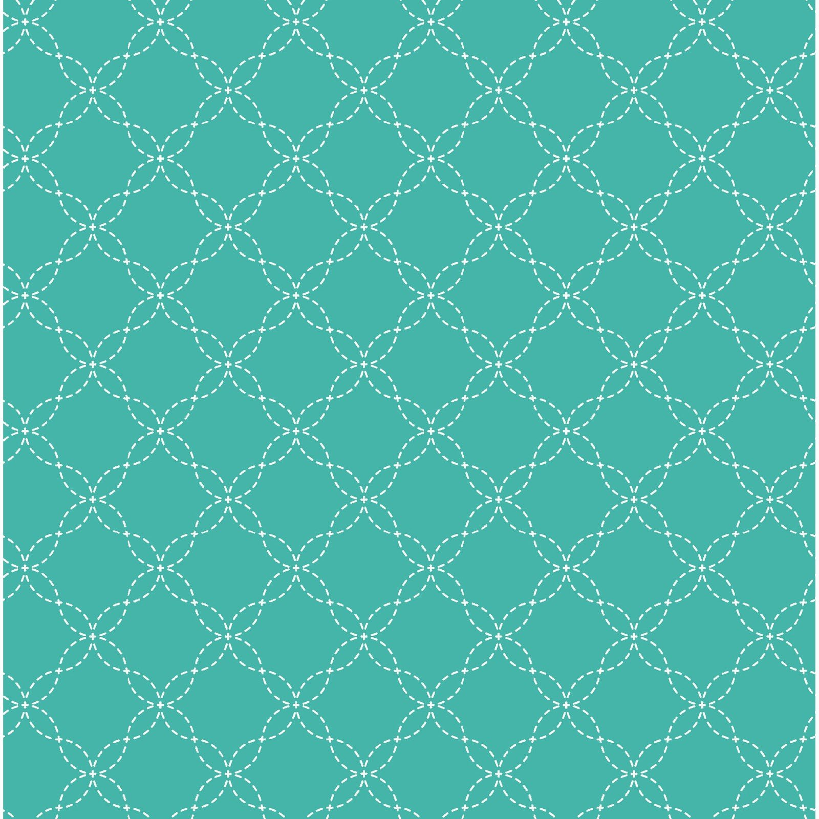 Lattice - Teal<br/>Maywood Studio 8209-Q