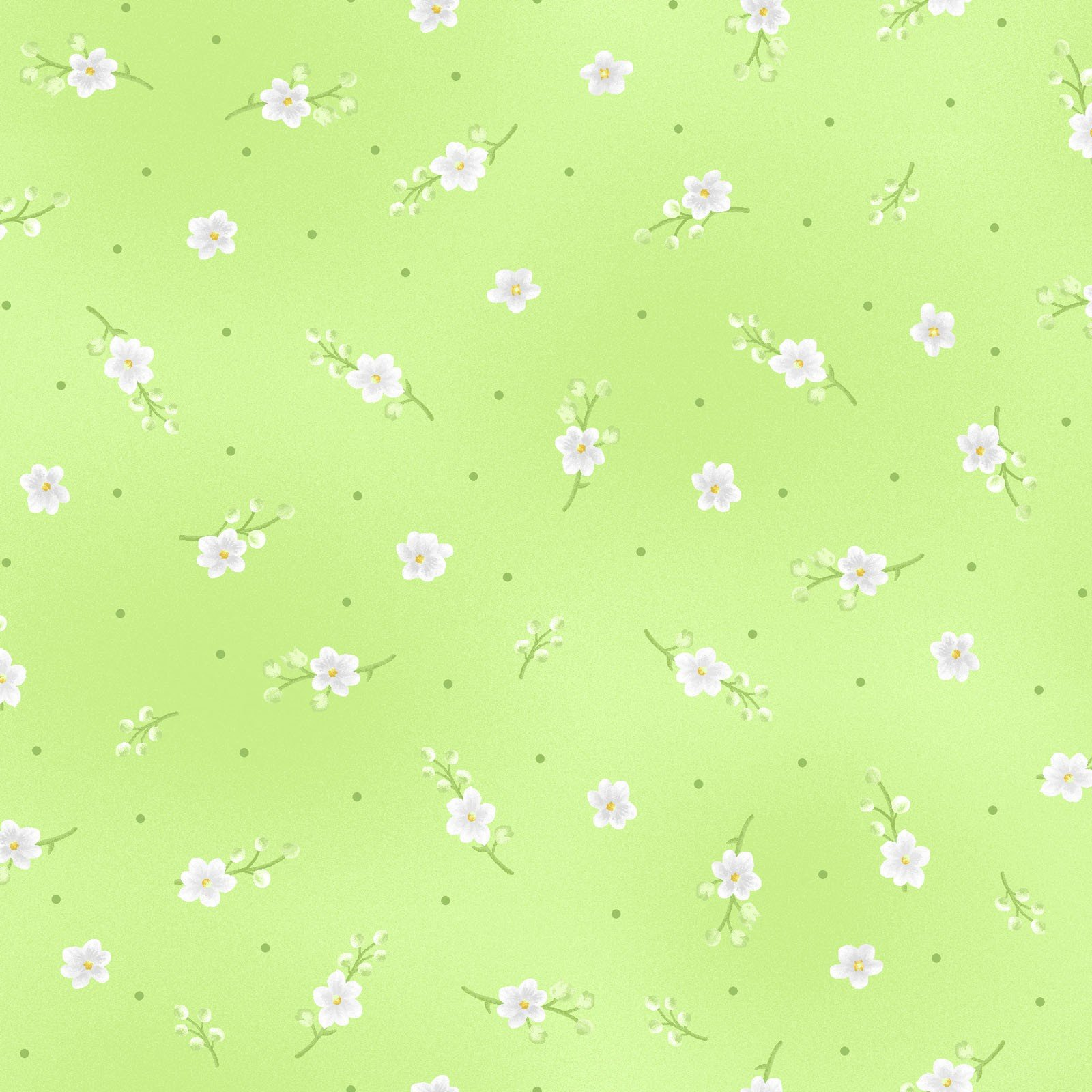 Lily Buds - Green<br/>Maywood Studio 8292-G