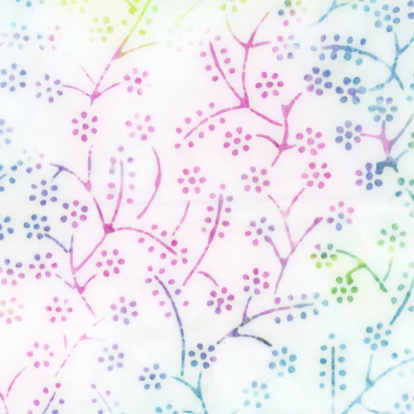 Bejeweled Batiks Tiny Flowers<br/>Maywood Studio B33-WZ