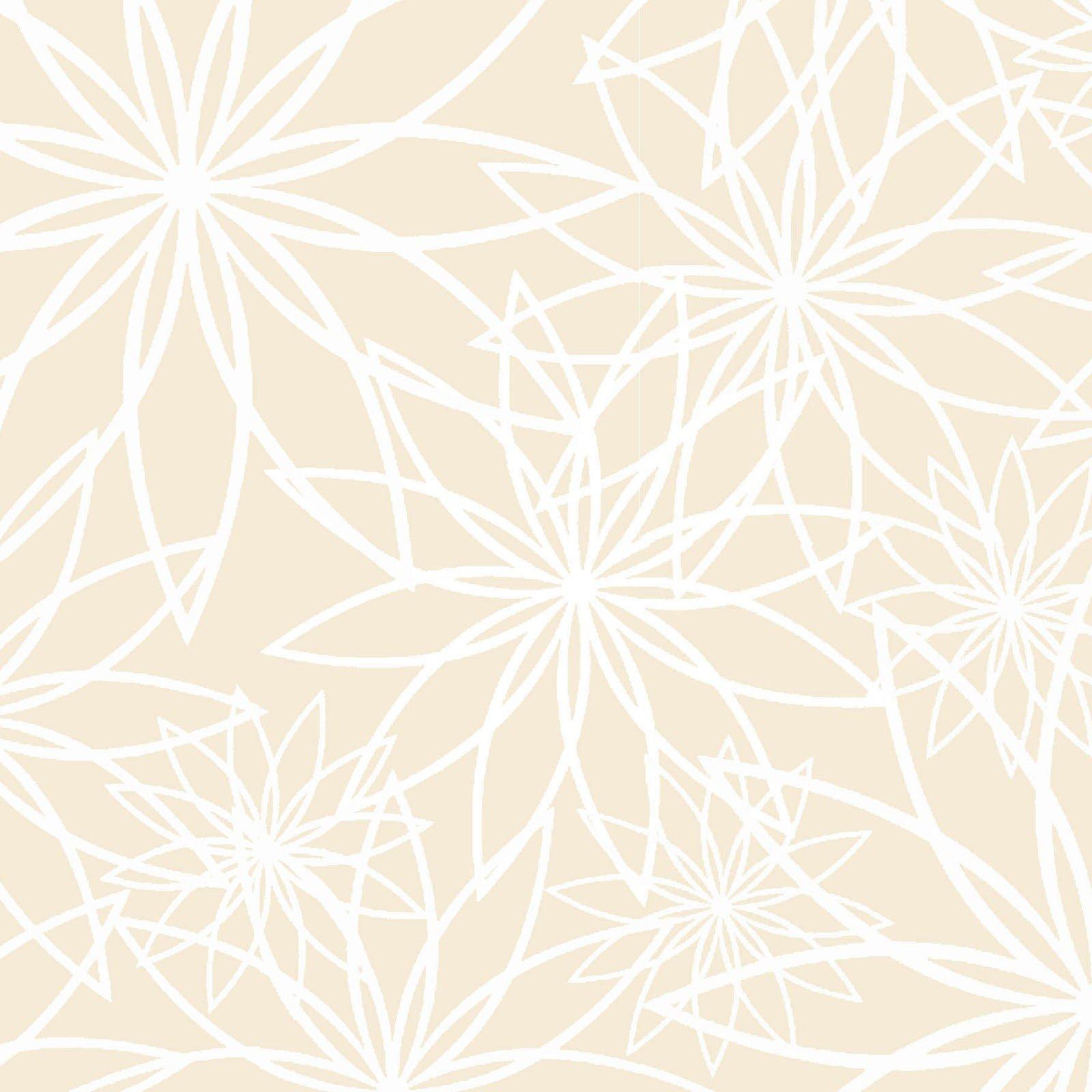 108in Wide Star Flower Cream<br/>Maywood Studio QB104-E