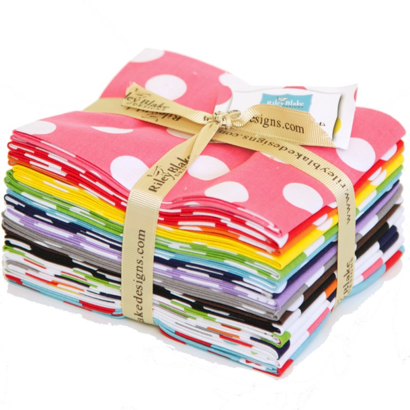 Riley Blake Fat Quarter Bundle - Medium Dots