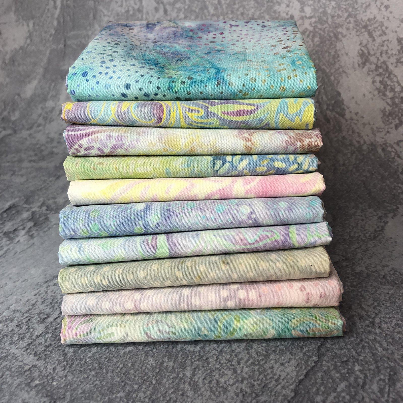 FQ Bundle Pastel Batiks<br/>GSF House Mix