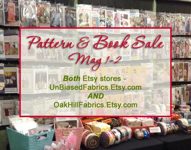 Book & Pattern Sale