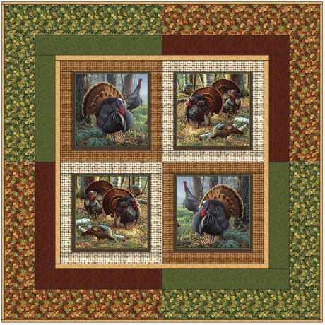 Turkey Trot<br/>Pieceworks Quilt Shop