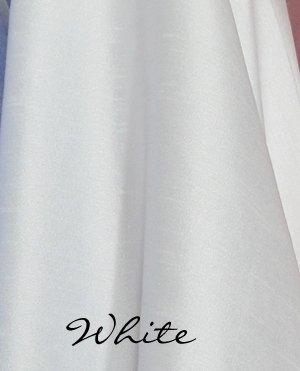 Dupioni - White<br/>Plastex Intl