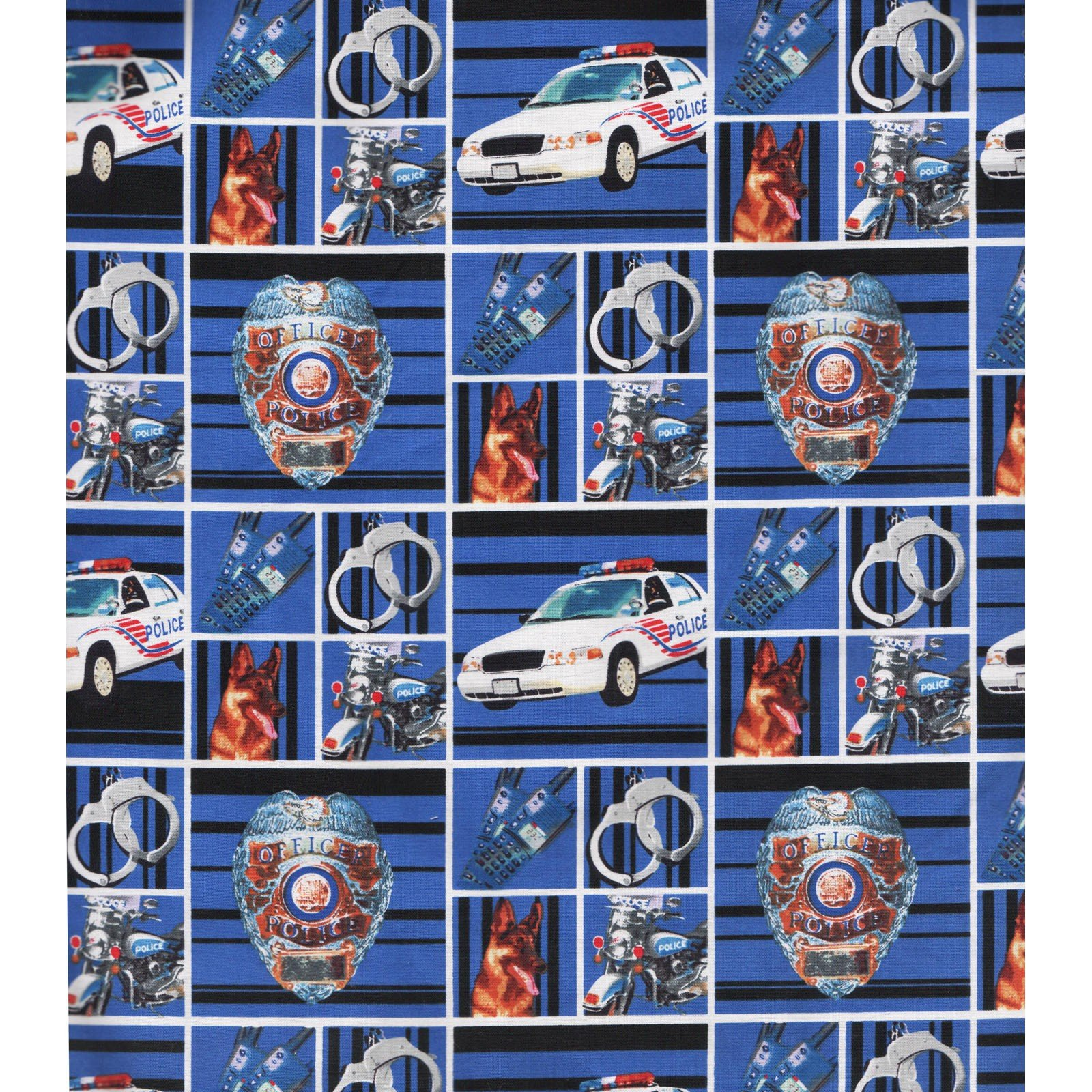 Hometown Heroes Police<br/>Print Concepts PD-1115