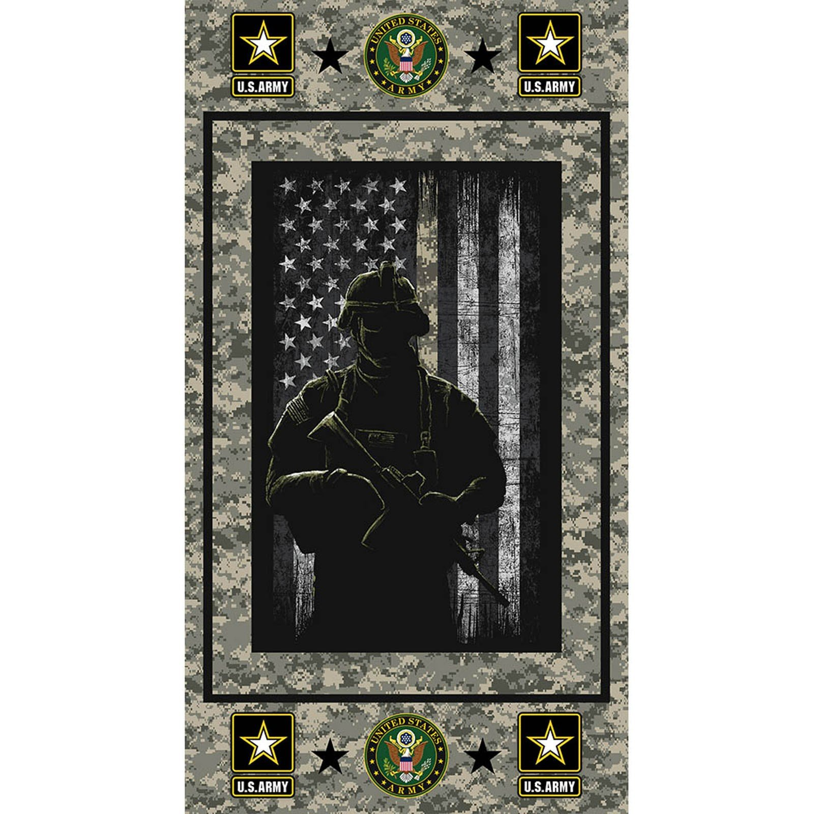 Army Panel<br/>Print Concepts 1195A