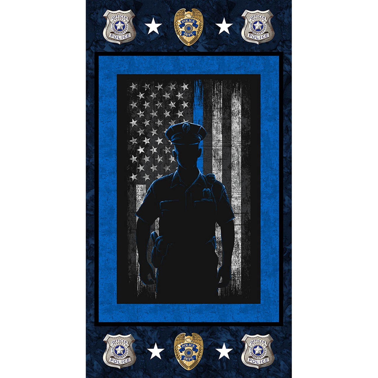 Hometown Heroes Police Panel<br/>Print Concepts 1195PD