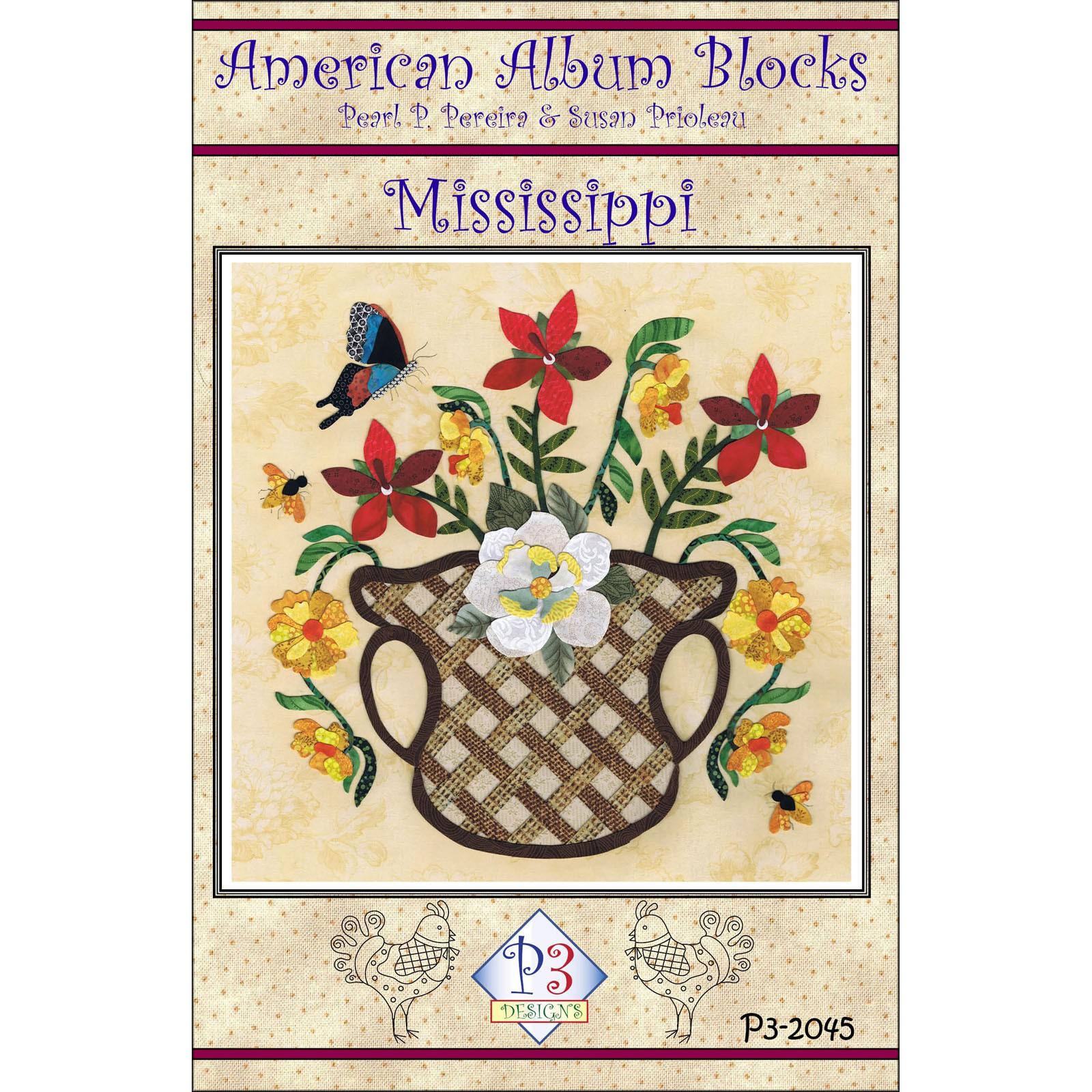 American Album Blocks: Mississippi<br/>P3 Designs