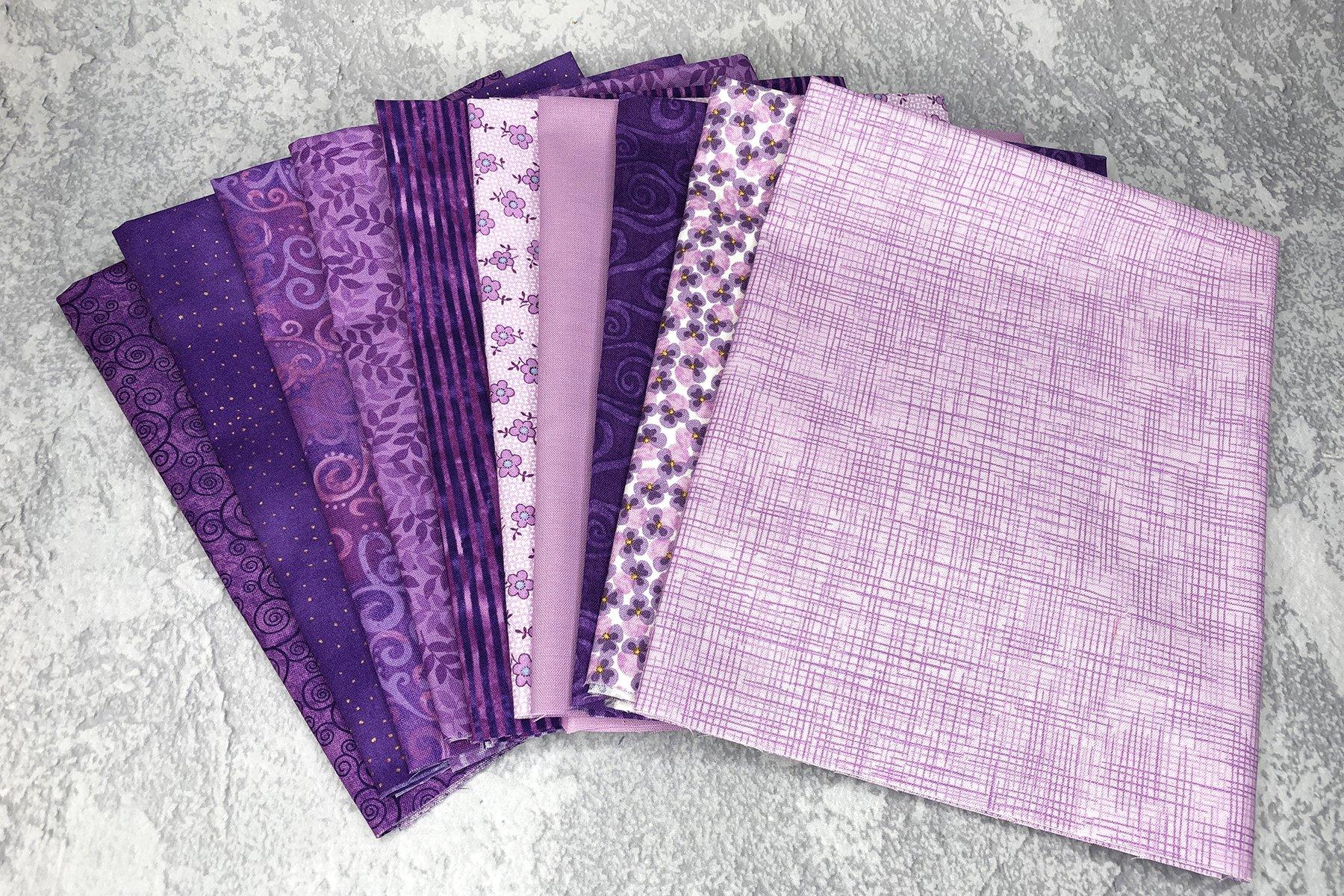 FQ Bundle Purple Cottons<br/>GSF House Mix