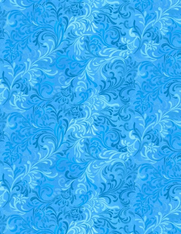 Embellishment - Brt Blue<br/>Wilmington Prits 51000-404
