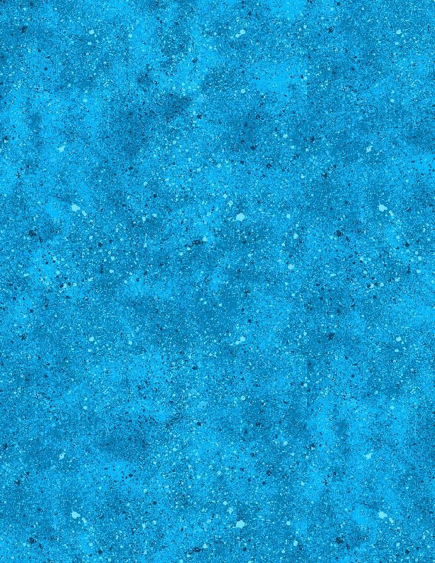 Spatter Texture Bright Blue<br/>Wilmington Prints 31588-440