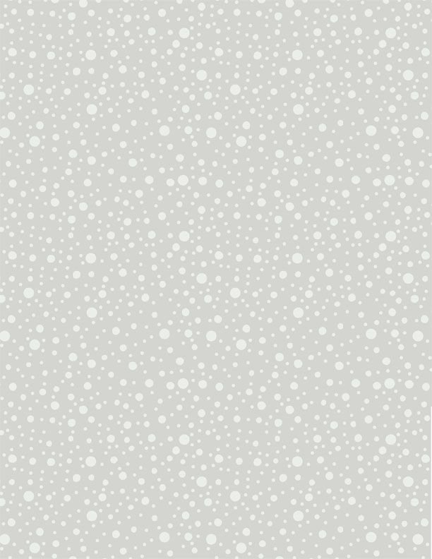 Dotty Dots Gray<br/>Wilmington Prints 39090-990
