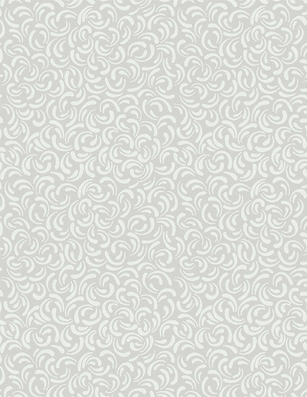 Scattered Petals Gray<br/>Wilmington Prints 39092-990