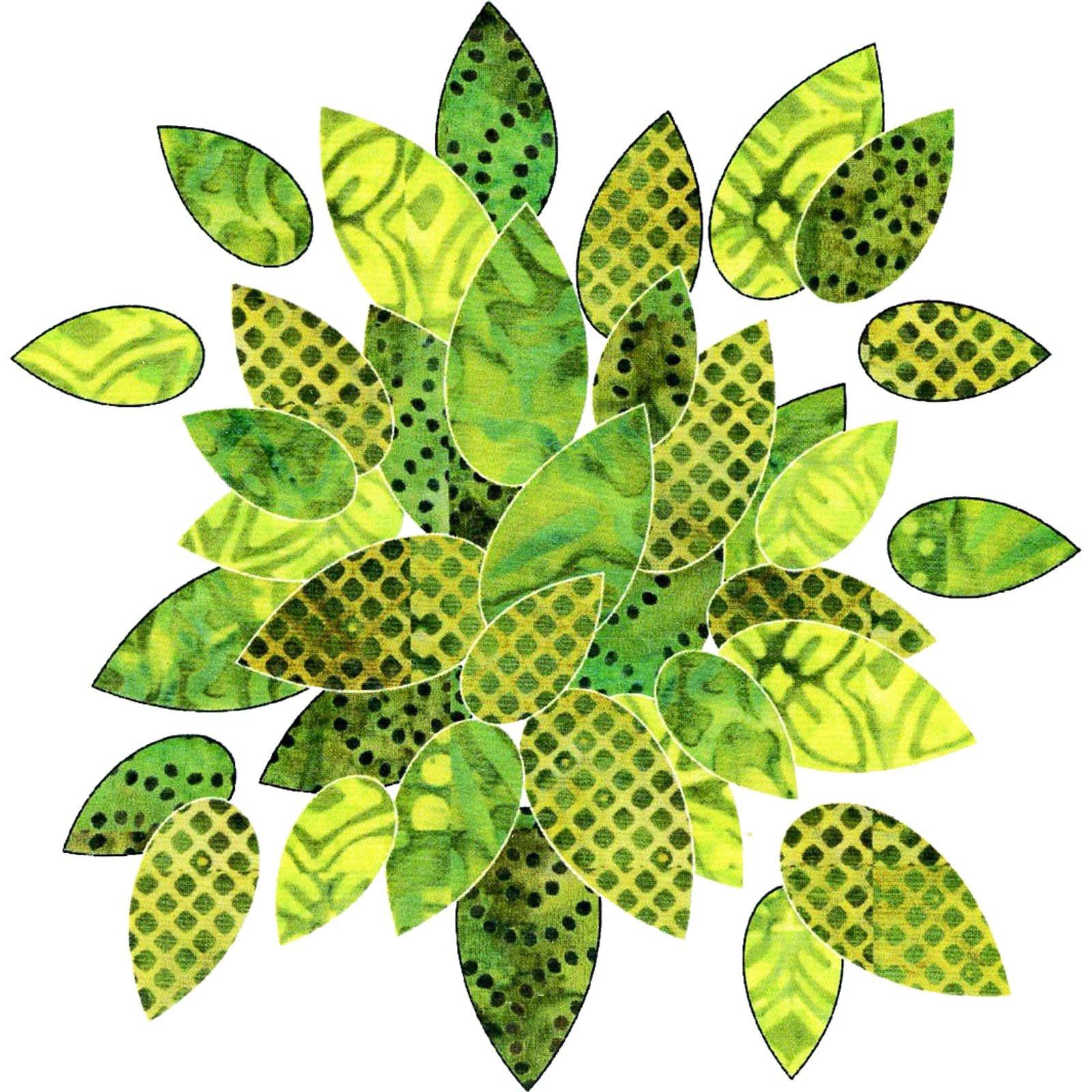 Bohemian Chic Leaves - Batik Set<br/>Applique Elementz 1022
