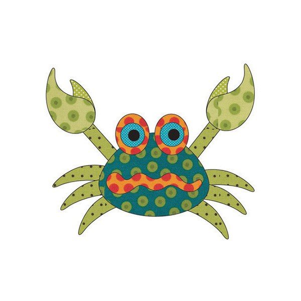 Blue Crab<br/>Applique Elementz 1085