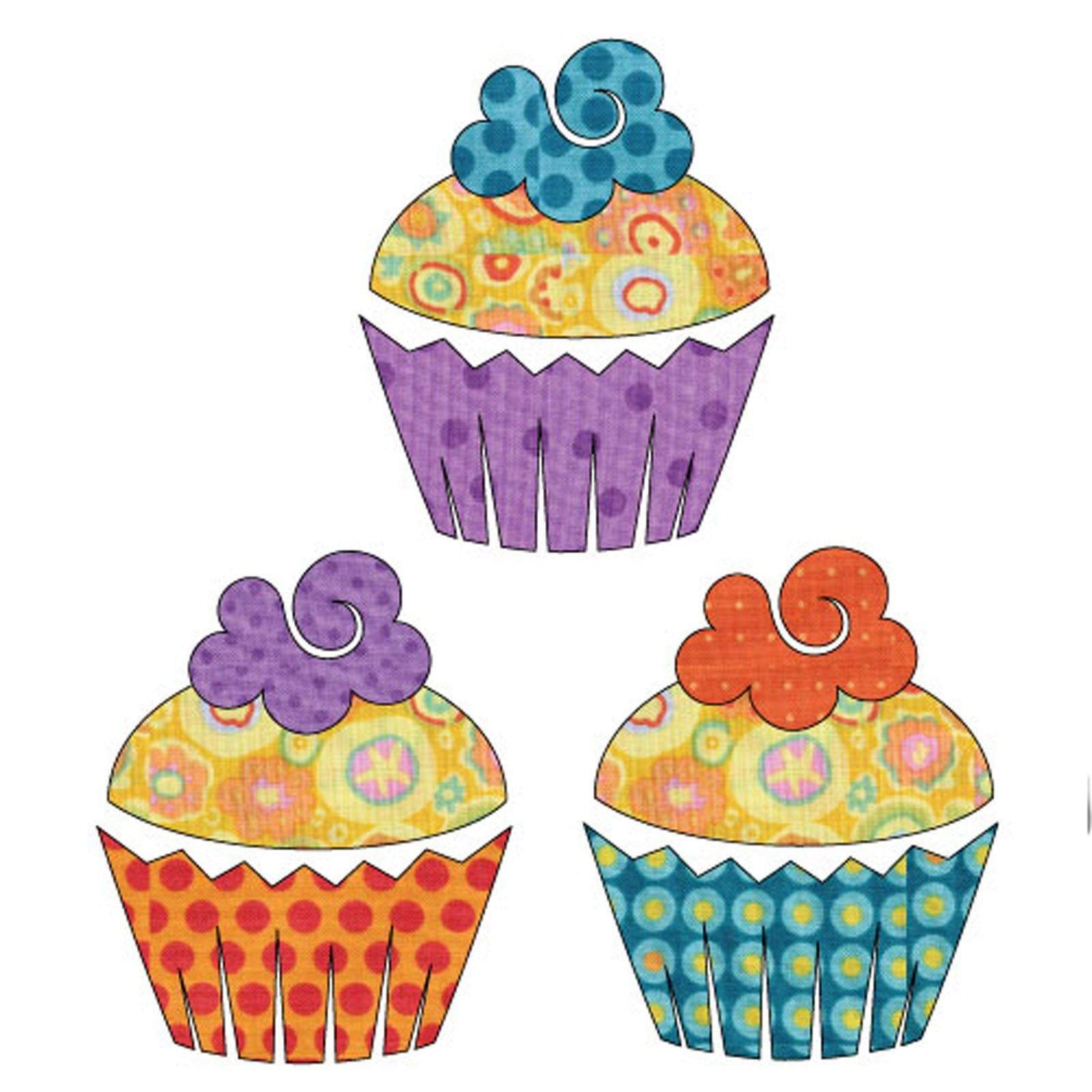 Sweet Treats - Cupcakes Set<br/>Applique Elementz 1106