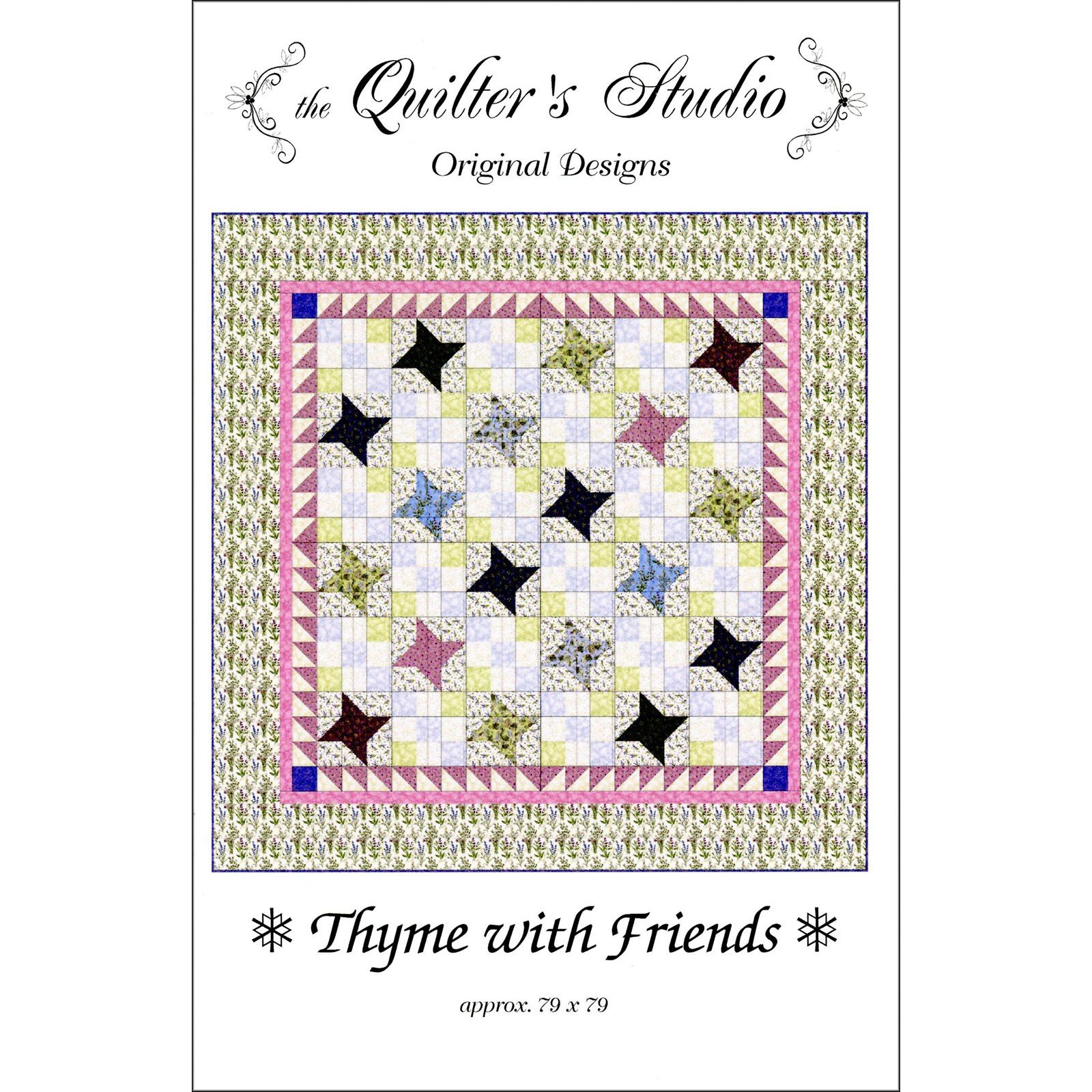 Thyme with Friends<br/>The Quilter's Studio