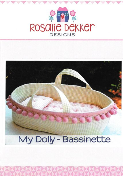 My Dolly Bassinette<br/>Rosalie Dekker Designs RQ063