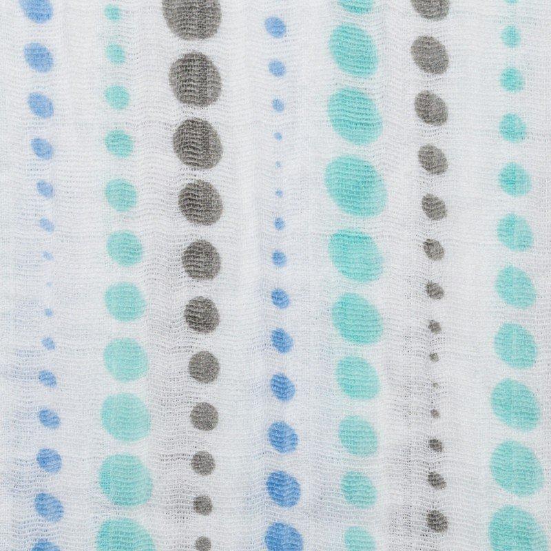 Embrace Double Gauze - Dotstripe Sky Opal<br/>Shannon Fabrics