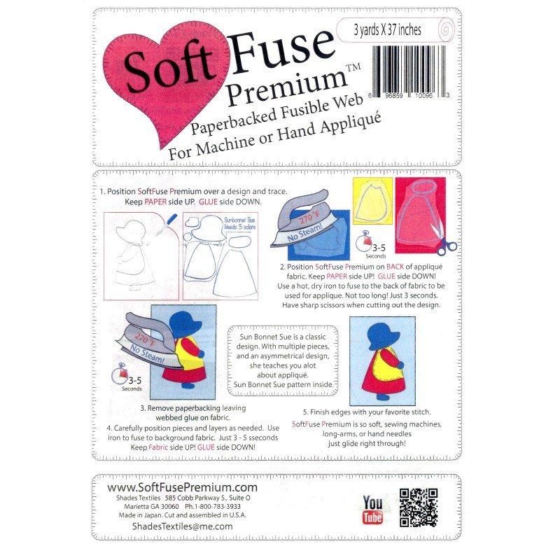 Soft Fuse Premium Web<br/>Shades Textiles 37x3yds