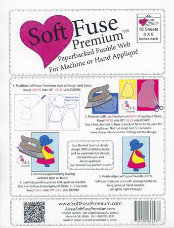 Soft Fuse Premium Web<br/>10 Sheets