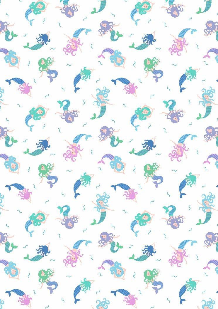 Mermaids - Cream<br/>Lewis & Irene SM7-1