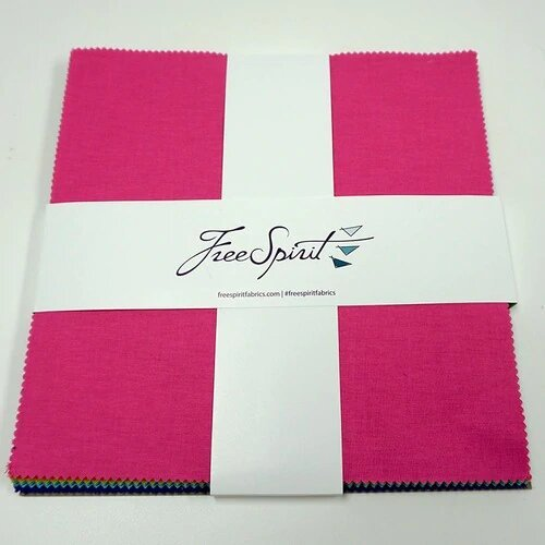 Squares -Tula Pink Solids<br/>FreeSpirit FB610TP.SOLID
