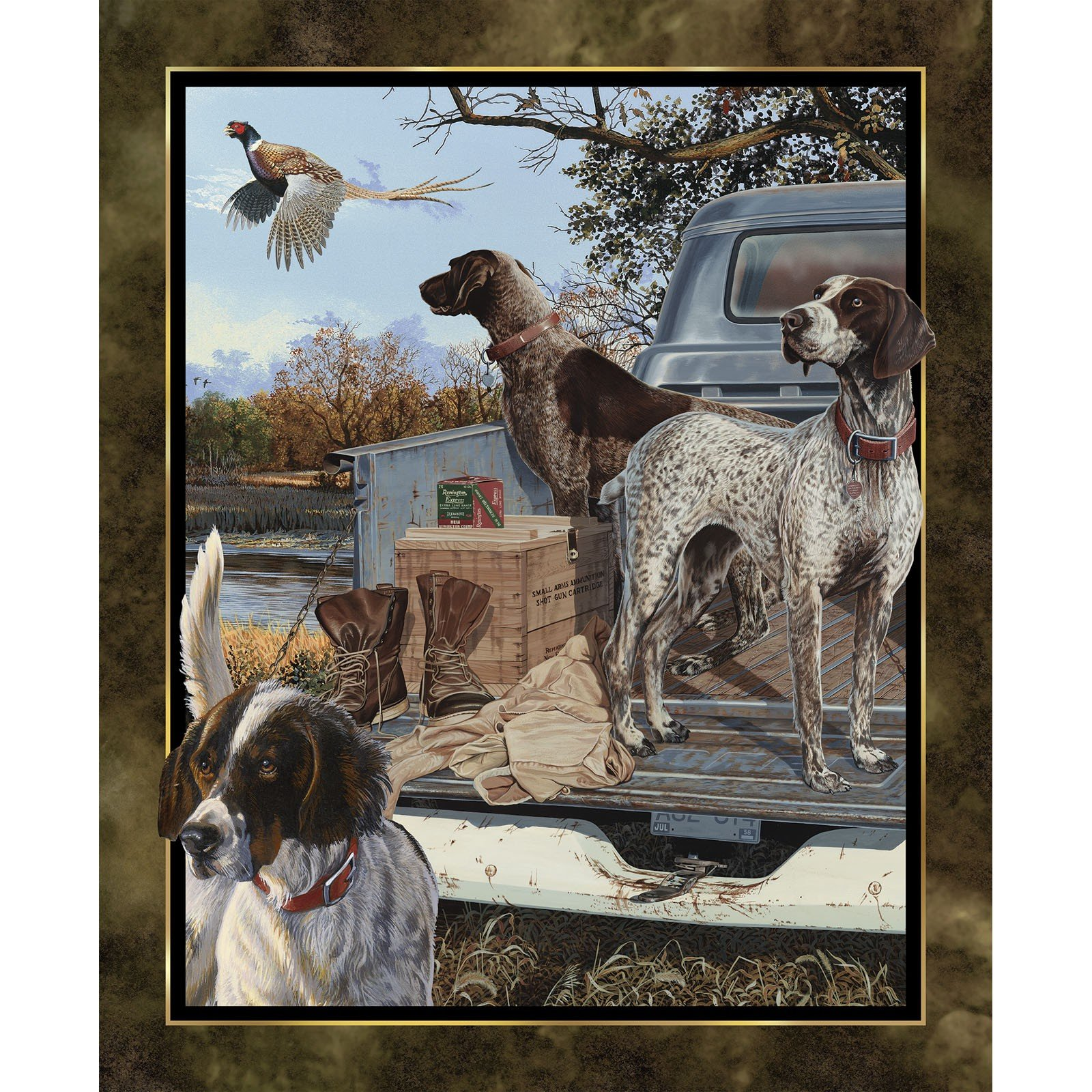 Dog Days Panel<br/>Springs Creative 65168-216