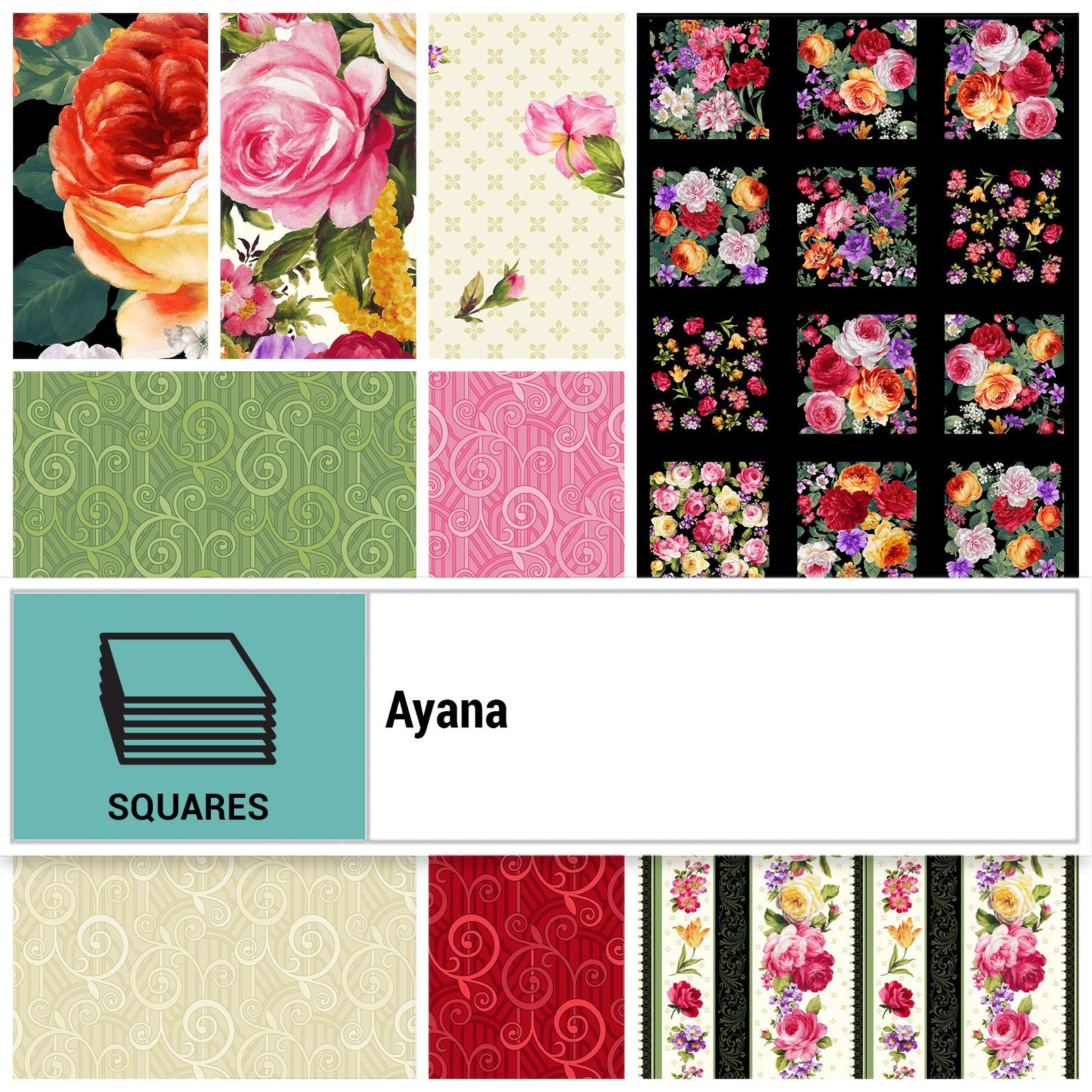 Squares - Ayana<br/>P&B Textiles SQ-PNBAYAN