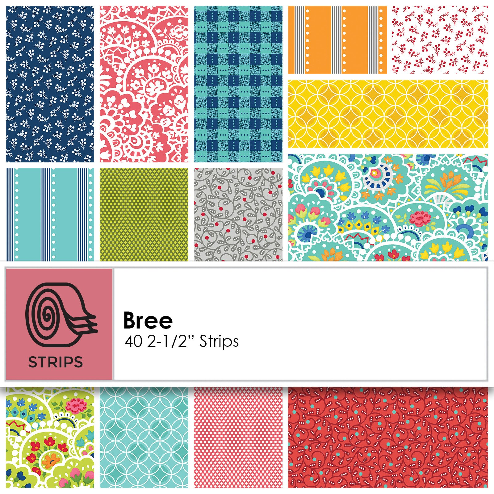 Strips - Bree<br/>Benartex PWBRE