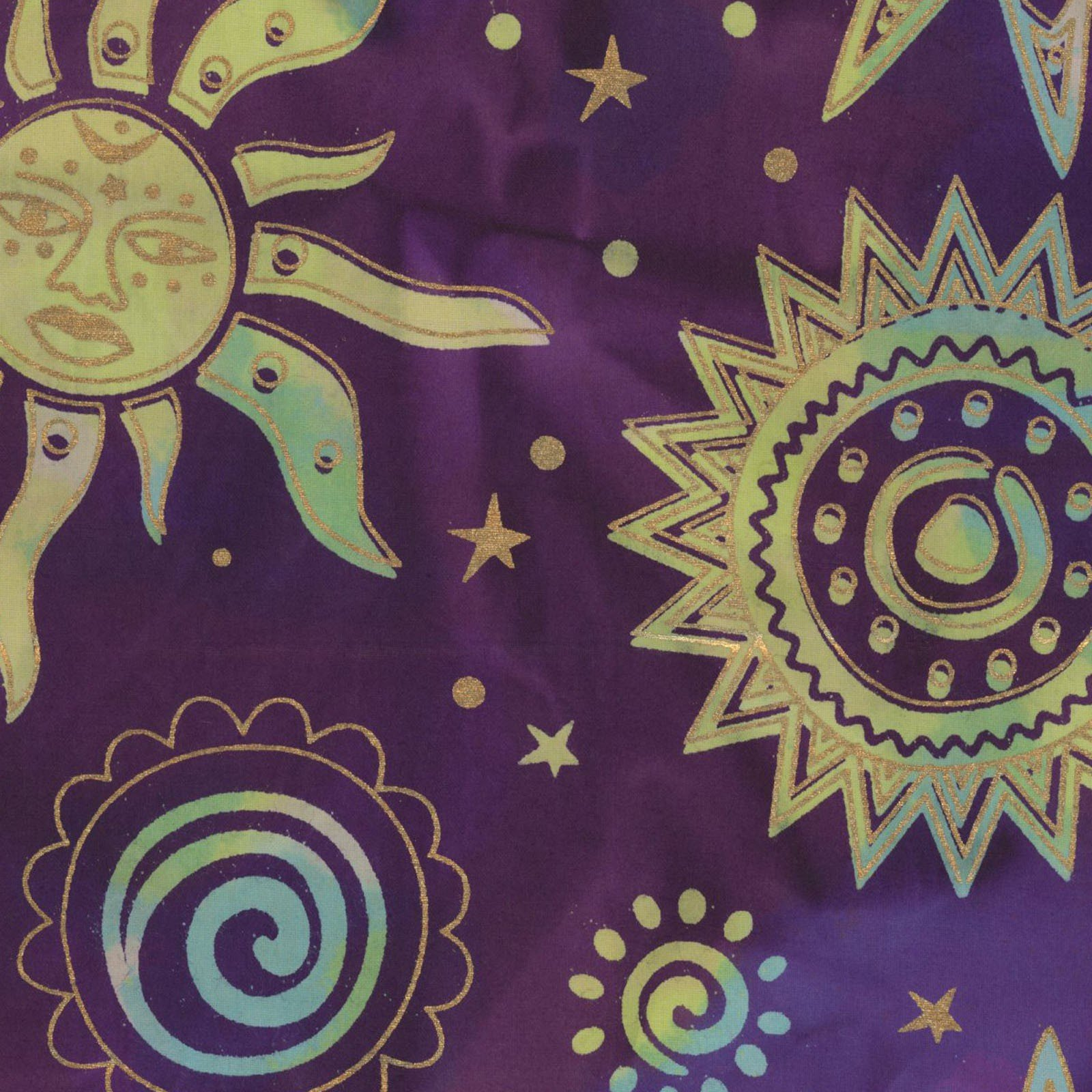 Odyssey Sun Purple Gold<br/>Textile Creations OY154