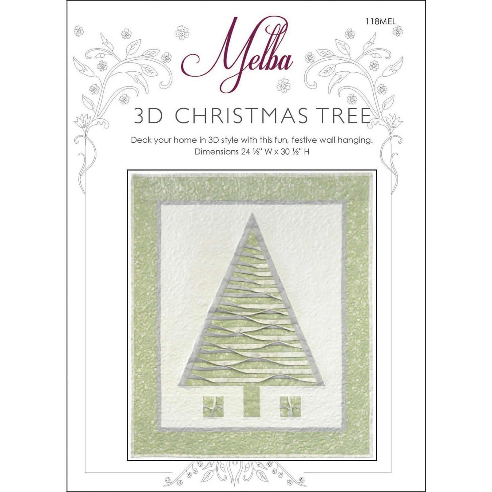 3d Christmas Tree<br/>The Textile Pantry