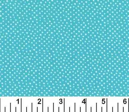 Mini Confetti Dots Turquoise<br/>Dear Stella