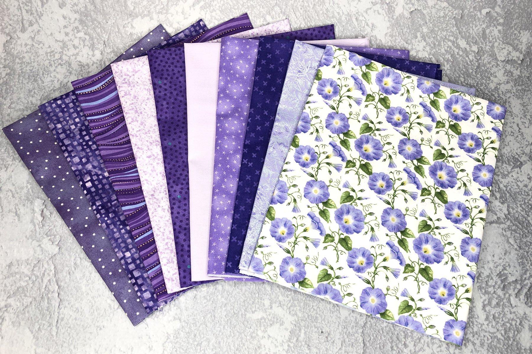 FQ Bundle Violet Cottons<br/>GSF House Mix