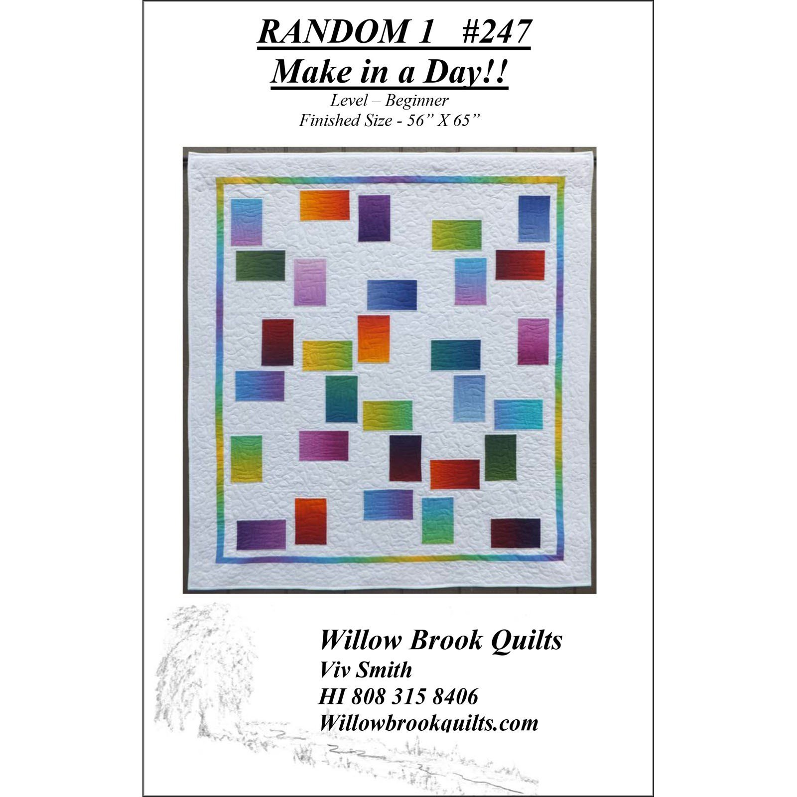 Random 1<br/>Willow Brook Quilts