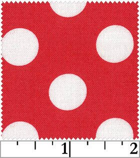 Dots Brights - Red<br/>Windham Fabrics 29395-6