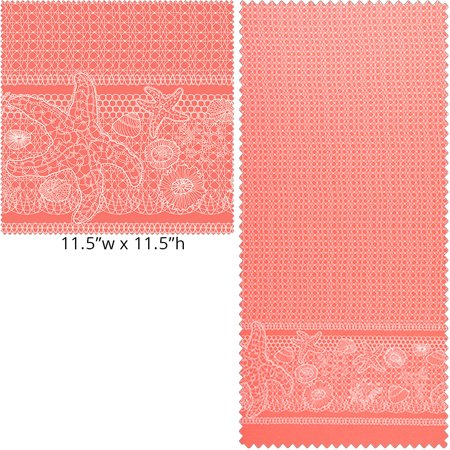 Tidal Lace - Coral</br>Windham