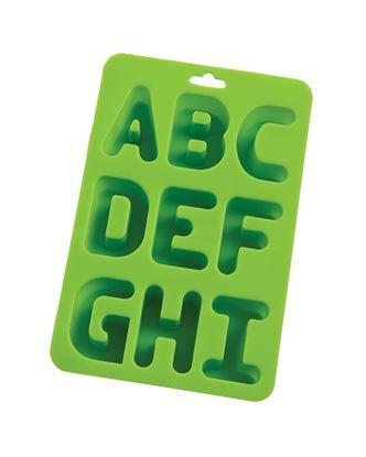 Alphabet Silicone Ice Cube Tray