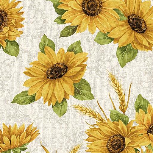 Accent On Sunflowers Sunflower Meadow Linen