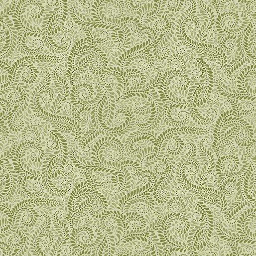 Accent On Sunflowers Napa Swirl Light Green
