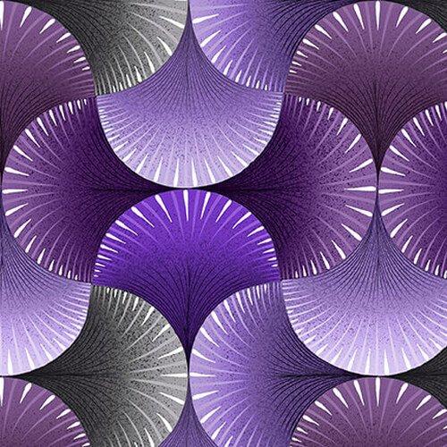 Lutece Fan Texture Purple
